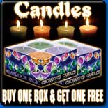 Buy One Box Get One Free! Candles