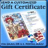 Send a Customized Gift Certificate