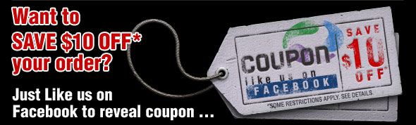Save $10 OFF Order Simply Like Us on Facebook