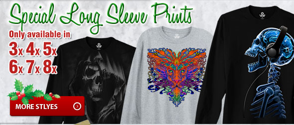 Special Long Sleeve Prints