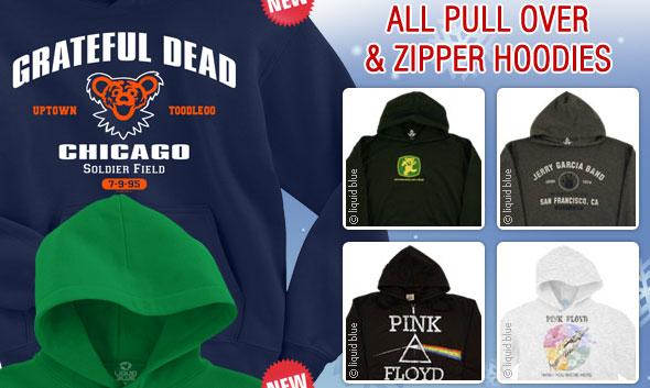 All Pull Over & Zipper Hoodies