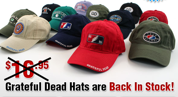 GD Hats Back in Stock