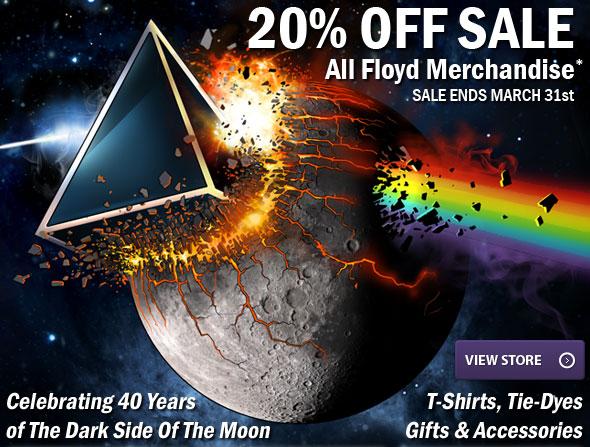 20% OFF All Floyd Merchandise