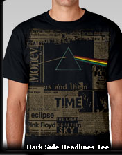 Dark Side Headlines Tee