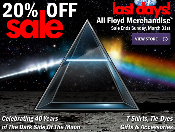 20% OFF All Floyd Merchandise