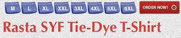 Rasta SYF Tie-Dye T-Shirts