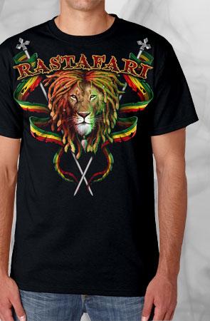 Rastafari Black Tee