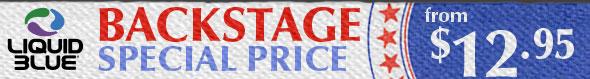 Liquid Blue's Backstage Price