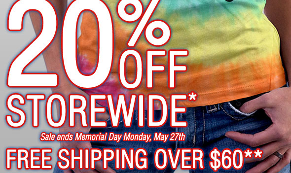 Sale ends Memorial Day May 27th