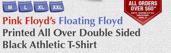Pink Floyd's Floating Floyd 2 Sided T-Shirt