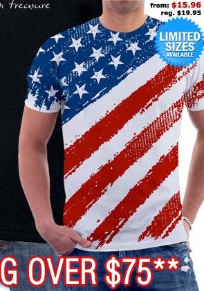 Star Spangled Banner Tee (Limited Sizes)