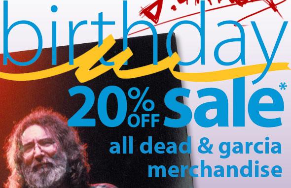 20% OFF All Dead All Garcia