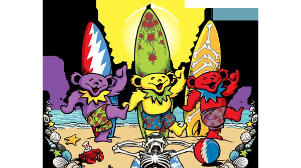 Beach Bear Bingo Tee