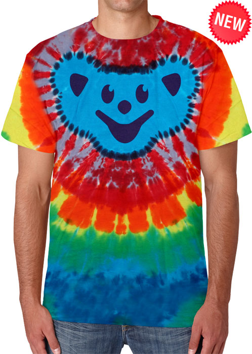 Bear Head Adult Tie-Dye