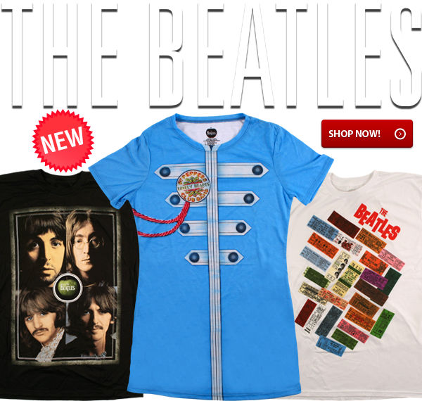 New Beatles Tees