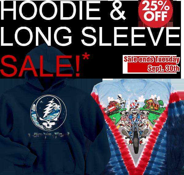 Hoodie and Long Sleeve Sale