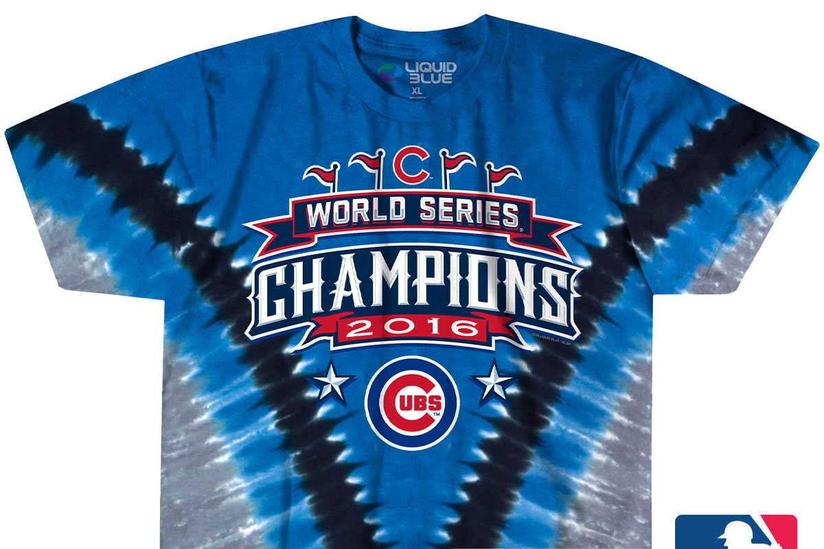 timeless design eb203 7b55e Chicago Cubs World Series Champion Tees! - Liquid Blue ...