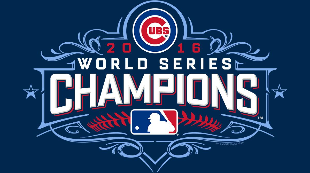 timeless design 34bb9 2ba7b Chicago Cubs World Series Champion Tees! - Liquid Blue ...