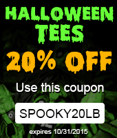 Halloween Tees 20% OFF Coupon